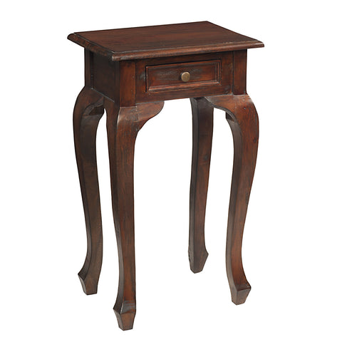 Artoo Side Table, Light Mahogany