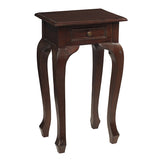 Artoo Side Table, Dark Mahogany