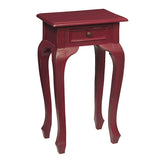 Artoo Side Table, Ruby Red