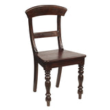 Organa Chair, Dark Mahogany