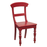 Organa Chair, Scarlet Red