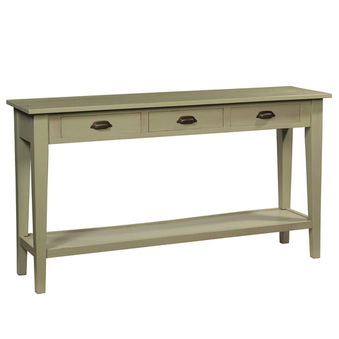Chewi Console, Laurel Green