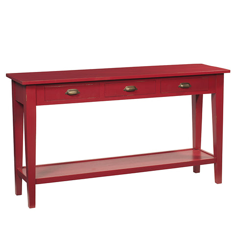 Chewi Console, Ruby Red