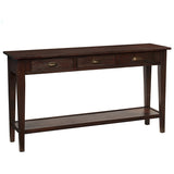Chewi Console, Light Mahogany