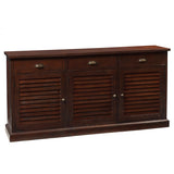 Louvre Sideboard, Light Mahogany