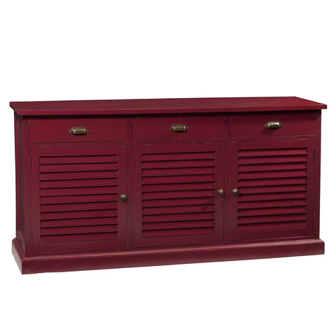 Louvre Sideboard, Ruby Red