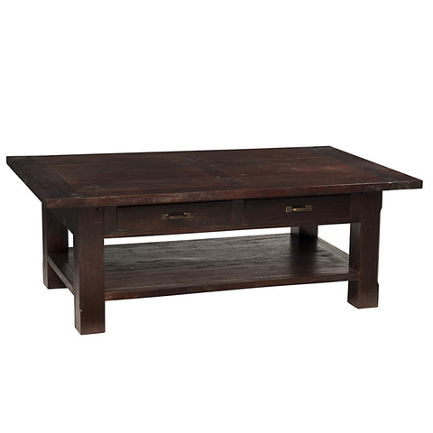 Dakota Coffee Table, Dark Mahogany