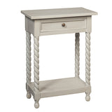 Tidore Side Table, Silver Grey
