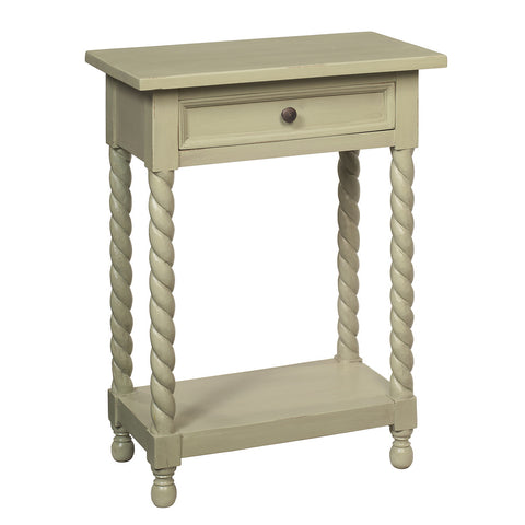 Tidore Side Table, Laurel Green
