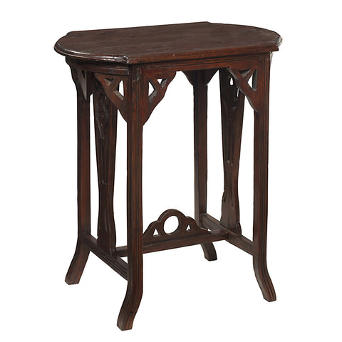 Merapi Table, Dark Mahogany