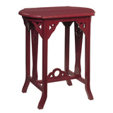 Merapi Table, Ruby Red