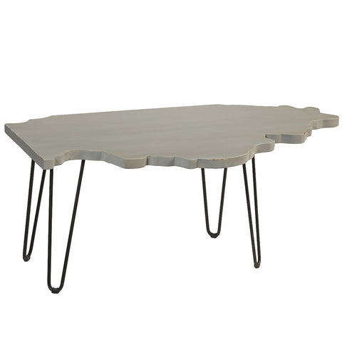Illinois Coffee Table, Glacier Gray