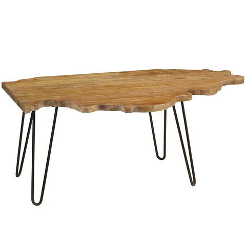 Illinois Coffee Table, Gray Wash