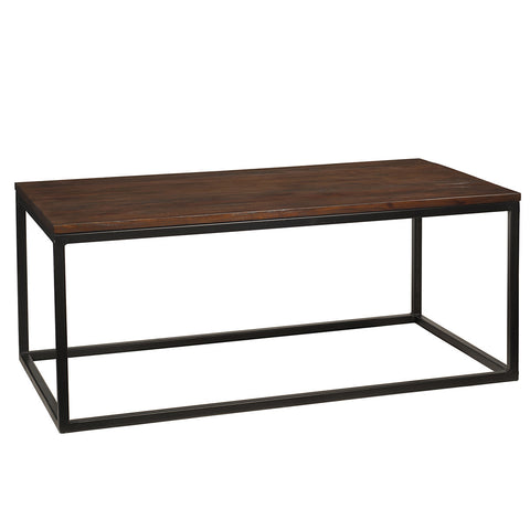 "Bubbe Coffee Table 48"" x 26"", Light Mahogany"