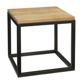 "Bunching Table 20"" x 20"" x 19"", Natural"