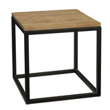 "Bunching Table 17"" x 17"" x 18"", Natural"
