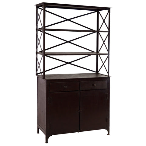 Iron Hutch, Acid Finish