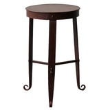 Nice Little Stool / Side Table, Gun Metal