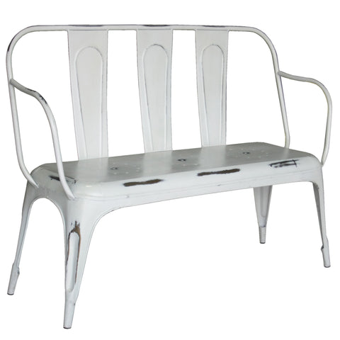 Pompidou Bench, Off-White