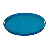 Tumbaga Iron Tray Medium, Turquoise