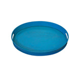 Tumbaga Iron Tray Small, Turquoise