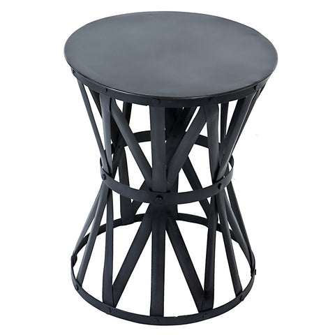 Roman Iron Stool, Gunmetal