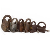 Iron Lock with Key