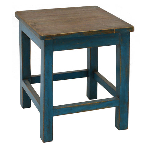 Sturdy Stool, Blue