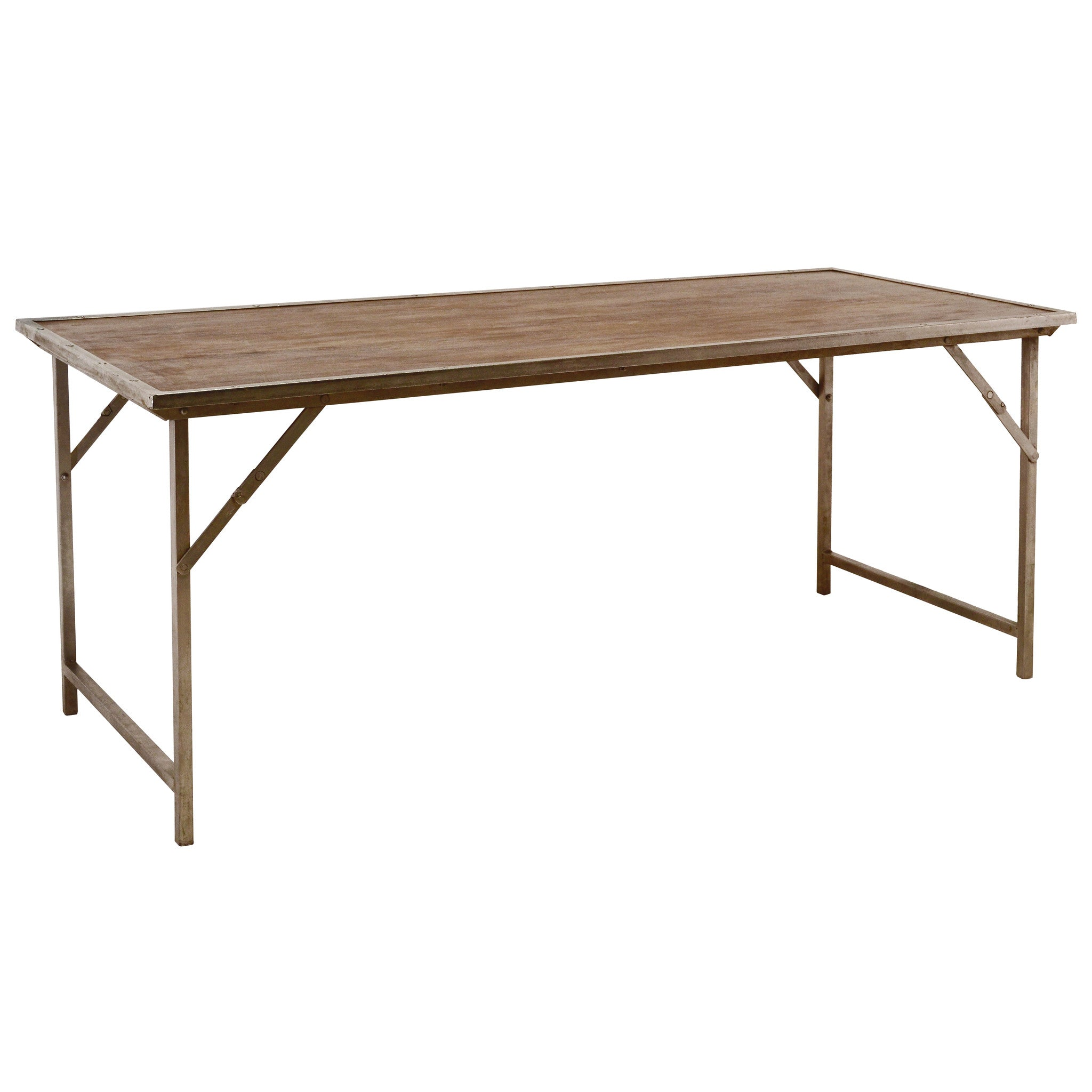Long folding dining table wrightwood furniture