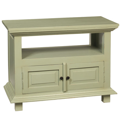 Mahoni TV Stand, Laurel Green
