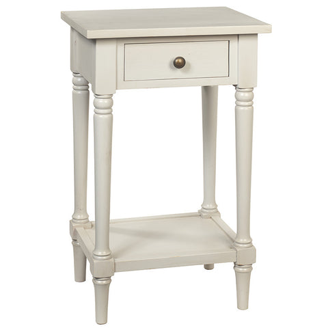 Gino Pedestal Table, Gracier Gray
