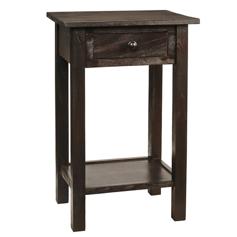Griffin Side Table, Espresso