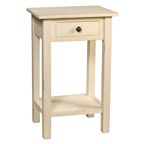 Griffin Side Table, Snow White