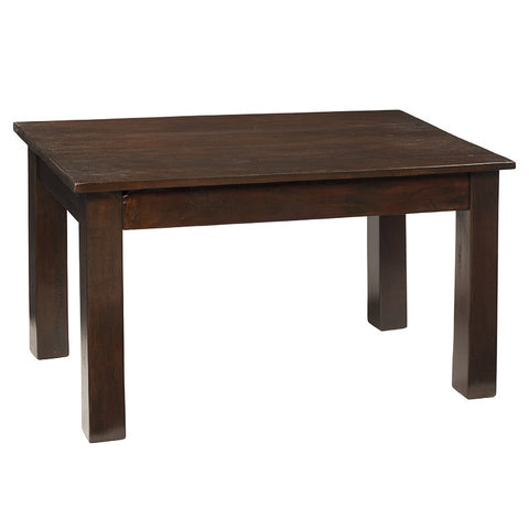 Kendari Coffee Table, Dark Mahogany