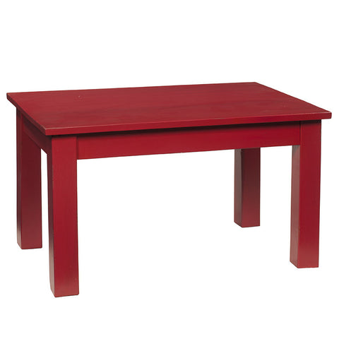 Kendari Coffee Table, Scarlet Red