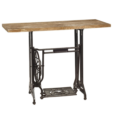 Sewing Machine Table, Natural