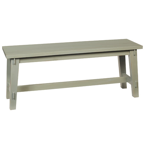 Trenon Bench, Slate Blue