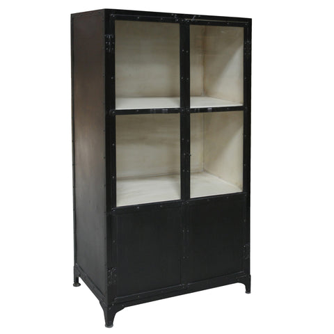 Deagol Iron and Glass Cabinet