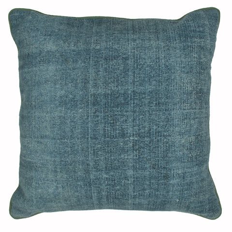 "Solid Pillow 18"" x 18"", Blue"