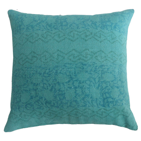 "Turquoise Pillow 18"" x 18"""