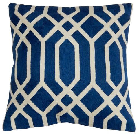 "Jumeirah Pillow 20"", Navy"