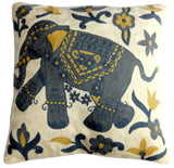 "Elephant Pillow 20"", Sage"
