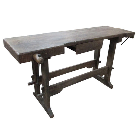 Woody Carpenter Console, Dark Finish