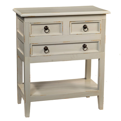Han Table, Glacier Gray