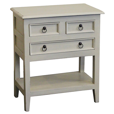 Han Table, Silver Gray