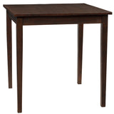 "Farmhouse Dining Table 40"" x 40"" x 36"", Light Mahogany"