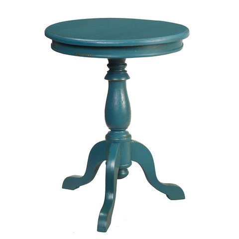 Serang Accent Table, Teal