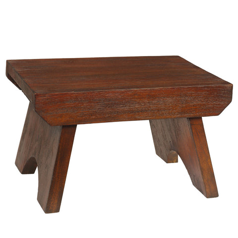 Lexie Step Stool, Light Mahogany