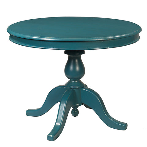 "Siantar Dining Table 39"", Teal"