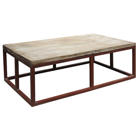 Pallando Coffee Table, Natural Rustic